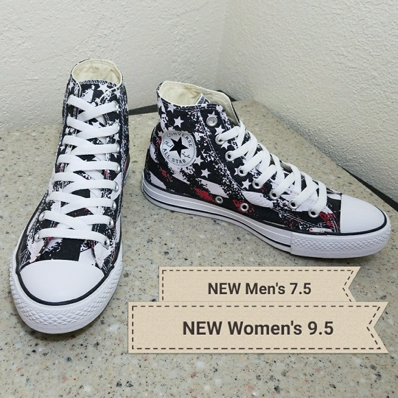 fa49eeb556a3 NEW Converse All Star Men 7.5  Women 9.5